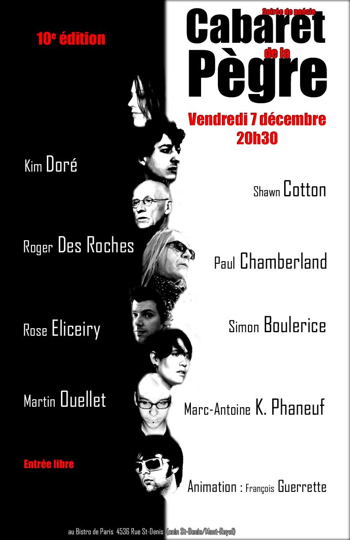 Cabaret de la pègre 7 déc 2012
