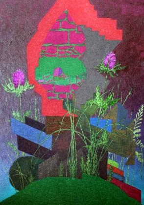 "Robin Fry, ""Green Glass"" 2011 - Gallerie Paul Petro"