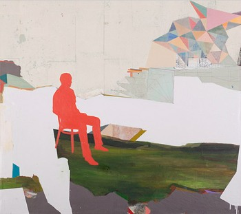Andy Curlowe, Watching Waiting Calculating, 2011.