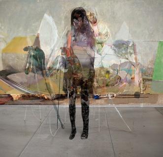 Figure Head, 2010, Impression numérique, 57'' x 57''