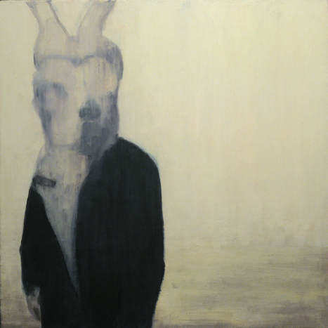 Joe Lima, «Disguise», Peinture, 2011, 60 cm x 60 cm