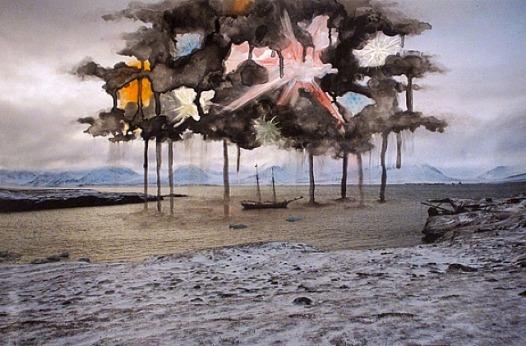Sarah Anne Johnson, Black Smoke, 2011. http://www.galeriedivision.com/artists/sarah-anne_johnson/SAJ_Arctic_FR.html