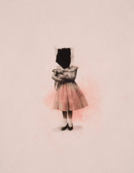 Sophie Jodoin, The Cherished Ones 1, acrylique et aquarelle sur mylar, 2010.