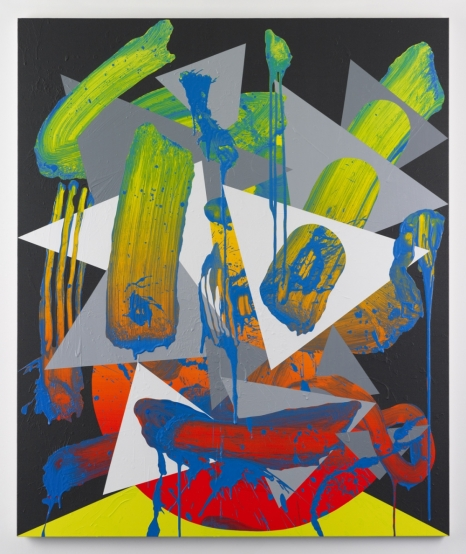 Luke Rudolf, Portrait No. 27,  Acrylique sur toile, 150 x 125 cm, 2010