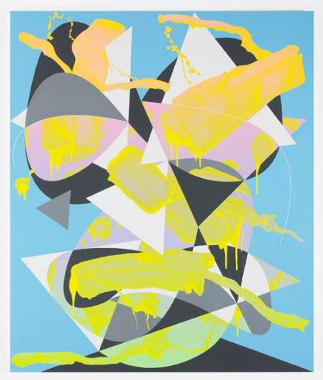 Luke Rudolf, Portrait No. 35, acrylique sur toile, 190 x 160 cm, 2011