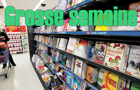T'es allé au Wallmart pour t'acheter des livres pas cher pis t'as juste profité d'un rabais de 10%! Tanné de payer!